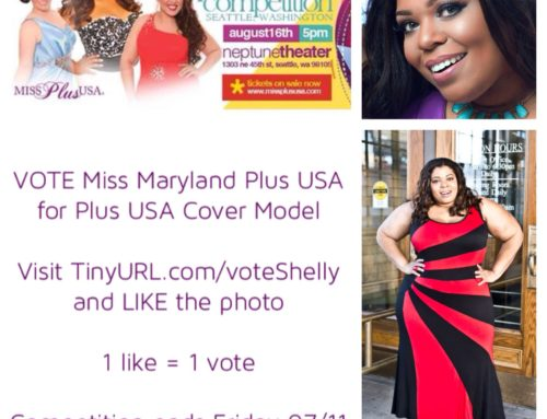 VOTE FOR ME in the Plus USA Cover Model Competitions